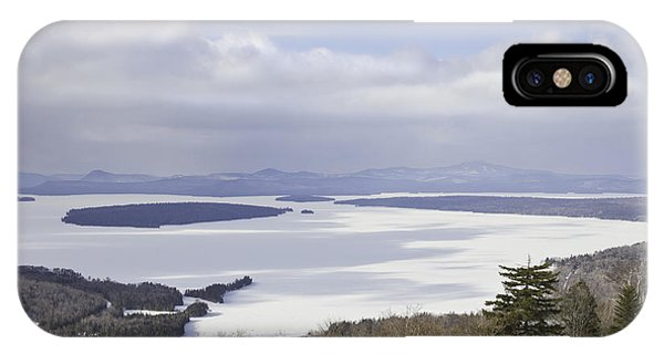 Rangeley Maine Winter Landscape IPhone Case