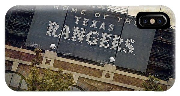 Rangers Ballpark In Arlington Color IPhone Case