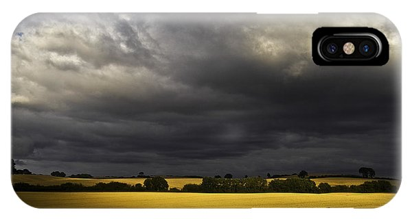 Rapefield Under Dark Sky IPhone Case