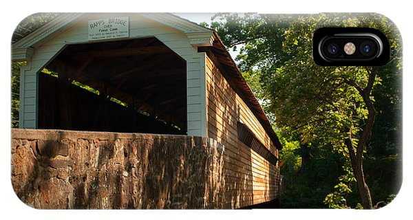 Rapps Covered Bridge IPhone Case