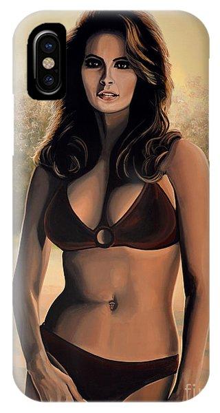 Raquel Welch 2 IPhone Case