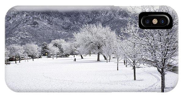 Rare Snowfall IPhone Case