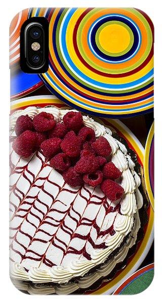 Raspberry Cake IPhone Case