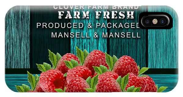 Raspberry Farm IPhone Case