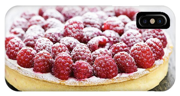 Fruit iPhone Case - Raspberry Tart by Elena Elisseeva