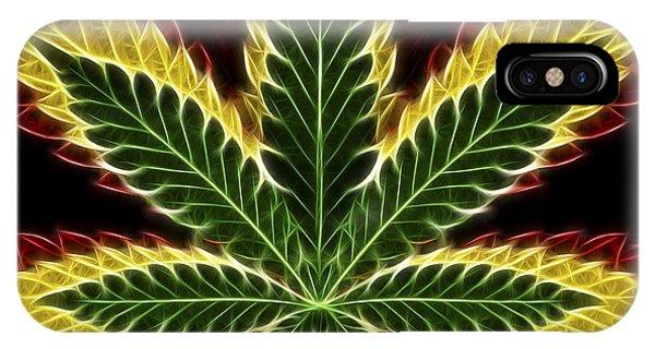Rasta Marijuana IPhone Case