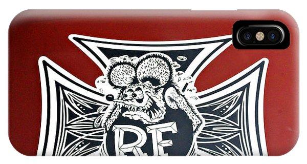 Rat Fink Big Daddy Roth IPhone Case
