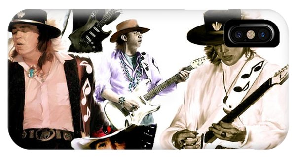 Rave On  Stevie Ray Vaughan IPhone Case