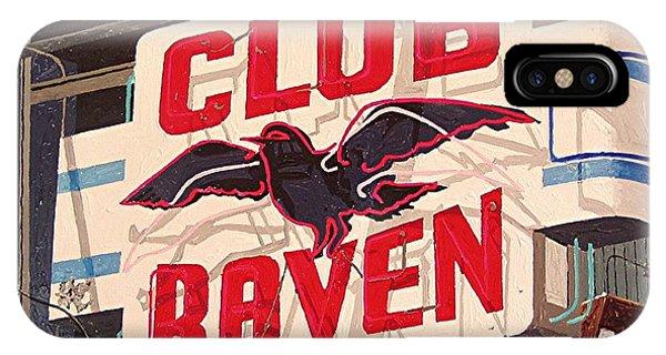 Raven Club Phone Case by Paul Guyer