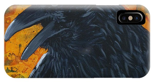 Raven Festival IPhone Case