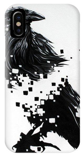 Raven Phone Case by Jeremy Scott