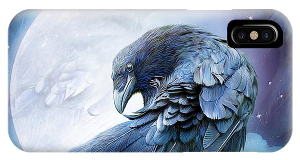Raven Moon IPhone Case