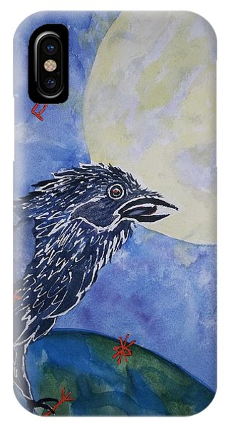 Raven Speak IPhone Case