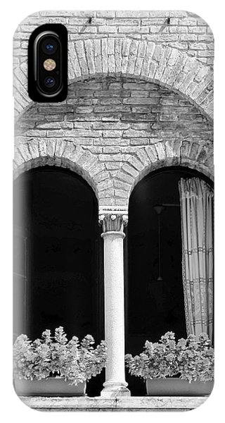 Ravenna Window Mono IPhone Case