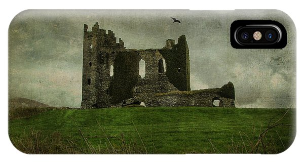 Raven's Castle IPhone Case
