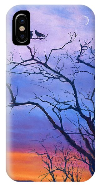 Raven's Chat IPhone Case