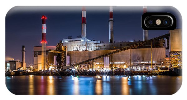 Ravenswood Generating Station IPhone Case