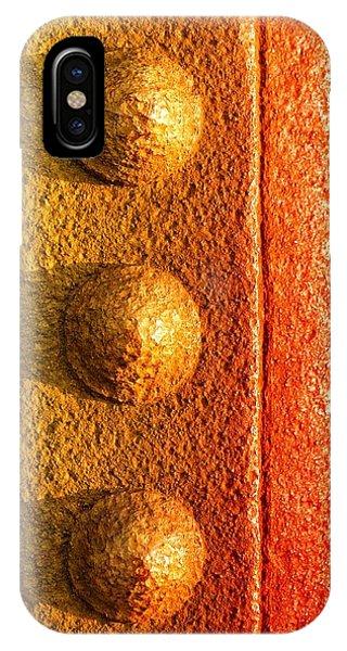 Steel iPhone Case - Raw Steel by Tom Druin