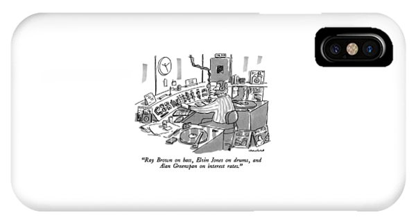 Ray Brown On Bass IPhone Case