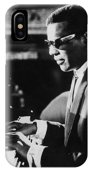 Ray Charles At The Piano IPhone Case
