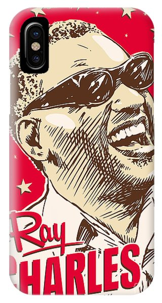 Ray Charles Pop Art IPhone Case