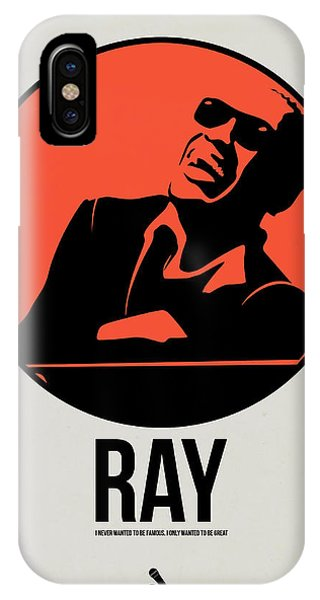 Charles iPhone Case - Ray Poster 1 by Naxart Studio