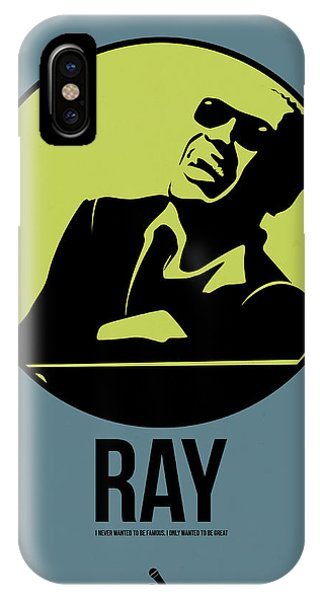 Charles iPhone Case - Ray Poster 2 by Naxart Studio