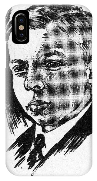 Raymond Arthur Palmer, American Author Phone Case by Mary Evans Picture Library