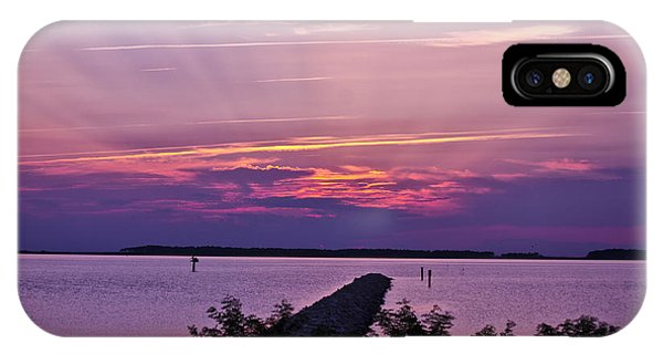 IPhone Case featuring the photograph Rays To Heaven by Kelly Reber