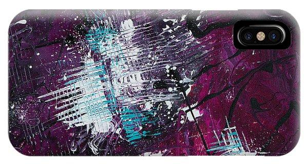 iPhone Case - Razzberry Jazz by Julie Acquaviva Hayes