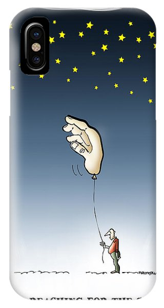 Reach For The Stars IPhone Case
