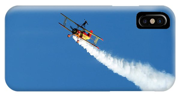 Reaching For The Moon. Oshkosh 2012. Postcard Border. IPhone Case