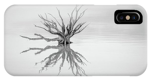 Simple Landscape iPhone Case - Reaching Out by Susan Moss