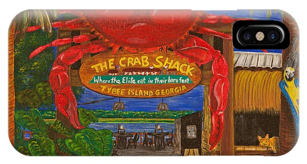 Ready For The Day At The Crab Shack IPhone Case