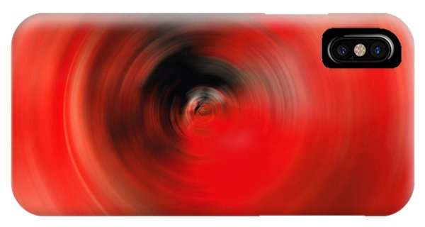 Reality Red - Abstract Art By Sharon Cummings IPhone Case