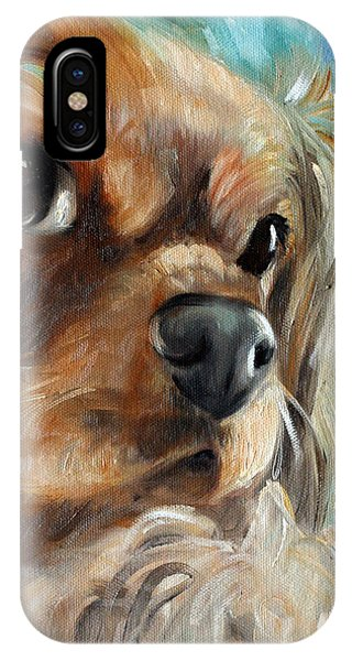 King Charles iPhone Case - Really? by Mary Sparrow