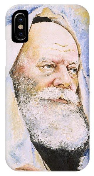 Rebbe In Tallis IPhone Case