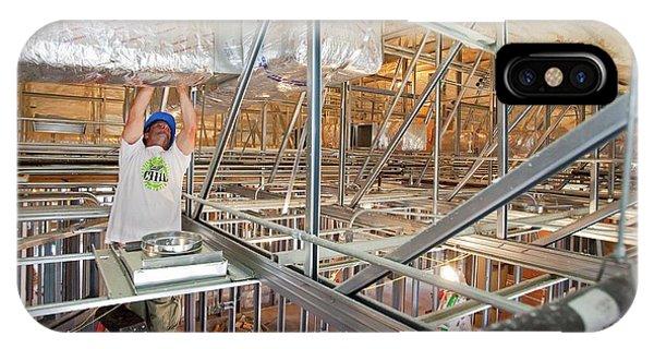 Katrina iPhone Case - Rebuilding After Hurricane Katrina by Jim West