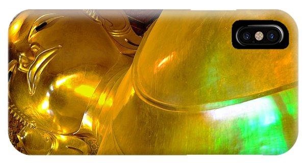 Reclining Buddha IPhone Case