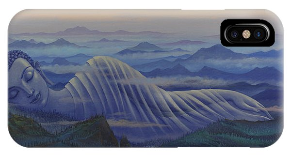 Reclining Buddha IPhone Case