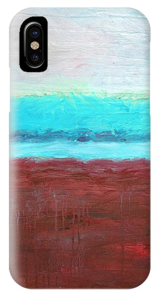Red And Aqua Get Married IPhone Case