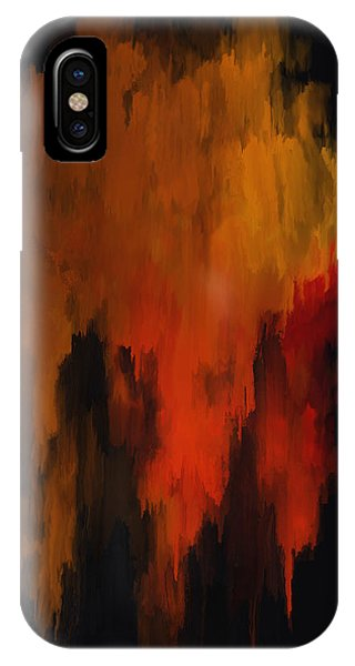 Red And Gold 1 IPhone Case