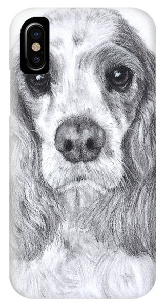 Red And White Cocker Spaniel IPhone Case