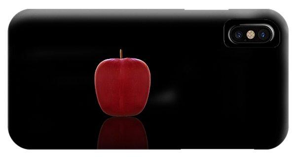 Buy Art Online iPhone Case - Red Apple by Steven Michael