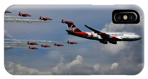Red Arrows And Lady Penelope IPhone Case