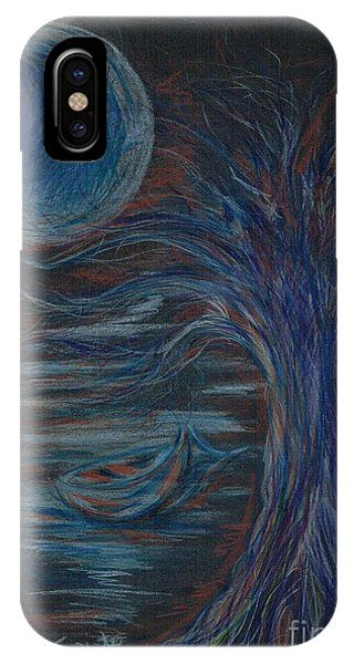 Red At Midnight IPhone Case