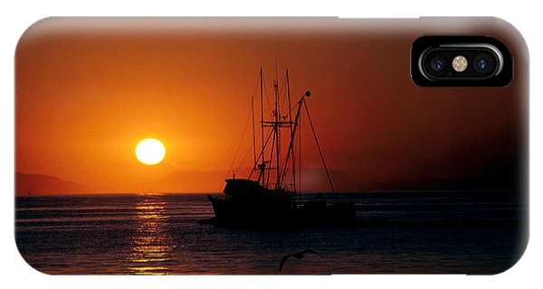 Red At Night Sailor's Delight IPhone Case