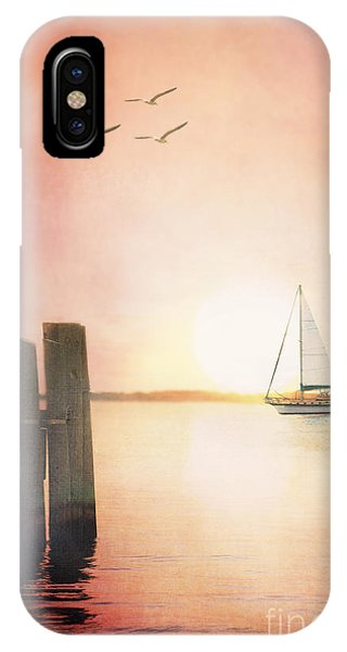 Red At Night IPhone Case