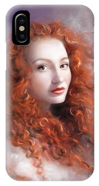 Red Autumn IPhone Case