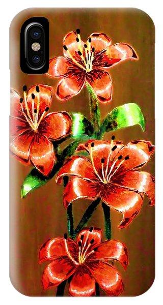 Red Azaleas IPhone Case